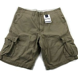 Levis Mens 38 Tan Cargo Work Shorts NEW